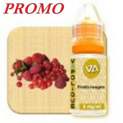 E Liquid - VAPOLIQUE FRUITS ROUGES - 10 ml - Fabrication française
