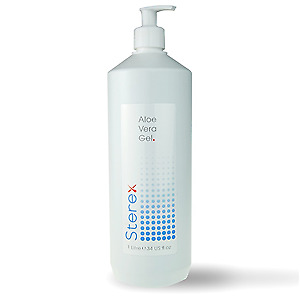 Sterex Natural Aloe Vera Gel with Pump 1 litre