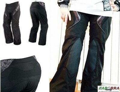 Pantaloni Ufo Plast Made In Italy Black Dream Nero-Bianco Atv - Mx Taglia 28-46