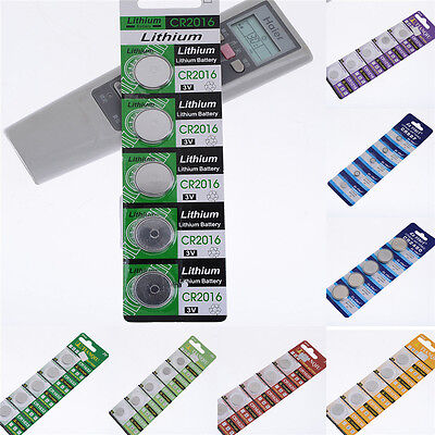 5Pcs Durable CR927 CR2450 Watch Button Cell Battery Batteries Electronic Hot