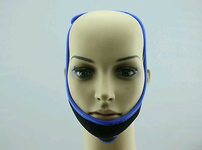 COMFORT STOP SNORING Anti Snore Chin Strap Belt ONE SIZE FITS ALL Apnea Solution