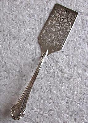 New Vtg. Never Used Sheffield Silver Plate Royal Chippendale Cake/lasagna Server