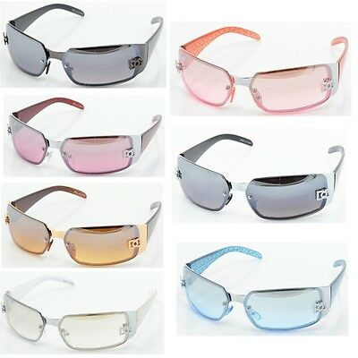 DG Women Fashion Designer Sunglasses Shades Rectangular Wrap Colorful NEW 5024