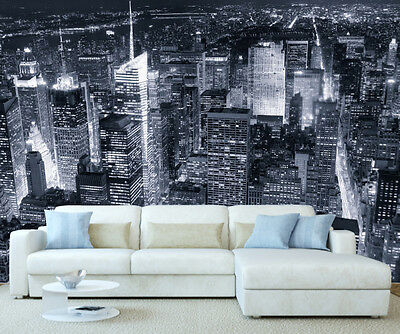 New York City Skyline Wall Mural Photo Wallpaper Picture Self Adhesive 1048