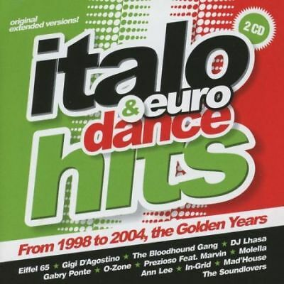 ITALO & EURO DANCE HITS VOL.01 - FRON 1998 TO 2004 - VARIOS - 2CDS [CD]