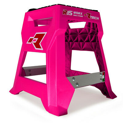 Racetech NEW Mx R15 LE Worx Motocross Dirt Bike Fluro Pink Motorcycle Stand