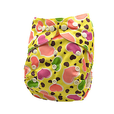Modern Cloth Nappy Adjustable Reusable FREE Insert MCN Nappies Pocket Nappy (D93