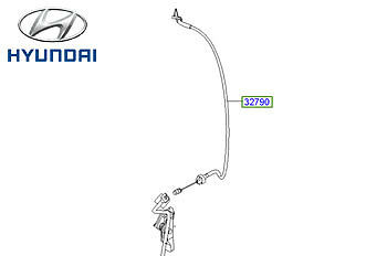 Genuine Hyundai i10 Throttle Cable - 327900X915