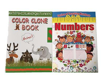 Early learning pre School Learn Numbers Colours Alphabet Book Party Gift Bag NEW
