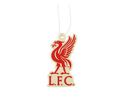 Liverpool FC Football Club In Car Hanging Cardboard 2D Air Freshener Official