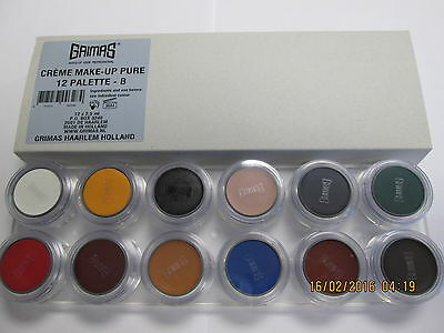 Grimas Casualty / Injury Creme Make-Up 12 Colour (Stage / Theatre / Make up)