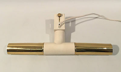 Brass Painting Clamp Lamp Sconce 50s Modern Stilnovo Arteluce Era Bilderleuchte
