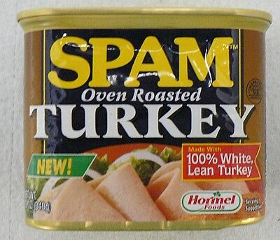Hormel Spam Roasted Turkey Coin Bank Tin Lid