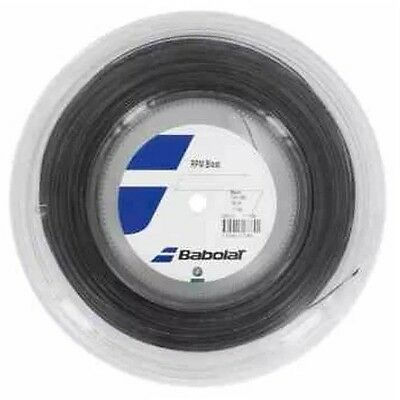 Babolat Rpm  Blast Tennis String - 1.25Mm 17G - 100M Reel  - Black - Rrp £100