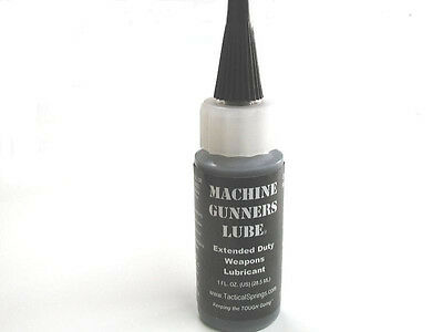 Tactical Springs Sprinco Machine Gunners Lube Oil MGL - 1 oz. Bottle # 37001 NEW