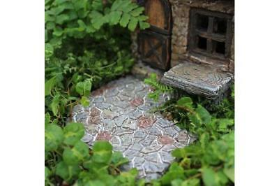 Miniature Dollhouse FAIRY GARDEN - Curved Pathway - Accessories