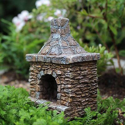 Miniature Dollhouse FAIRY GARDEN - Outdoor Chimney - Accessories