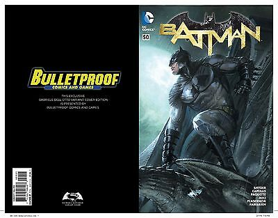 """BATMAN #50 Variant by Dell'Otto Bulletproof Connecting """"Pre sell"""" Ships 3/23/16"""