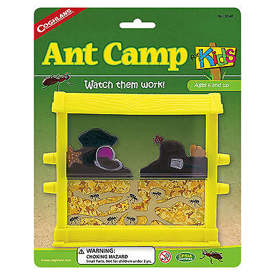 "Coghlan's Ant Camp for Kids 6""x5"" Educational Toy Ant Farm Sand Bug Habitat"