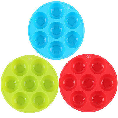 Whiskey Silicone Smile Face Ice Cube Ball Maker Mold Mould Brick Tray Random