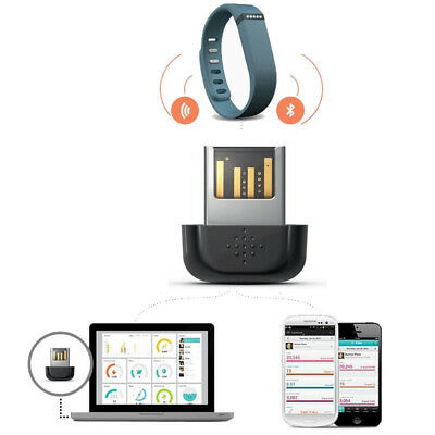 Bluetooth Wireless Dongle USB Sync for Fitbit One/Flex Zip/Force/Charge/HR/Surge