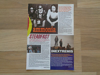 AMMONIA_Steadfast_Inextremis_MAGAZINE CLIPPINGS_ships from AUS!_12H