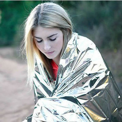 Waterproof Emergency Survival Foil Thermal Camping Blanket Rescue First Aid