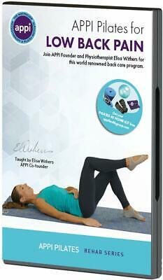 APPI Pilates DVD Low Back Pain Exercise Workout Posture Core Strength Use by NHS