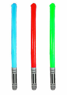 1 3 6 12 Inflatable Lightsaber Star Galaxy Wars Blow up Light Saber Toy 85-90cm