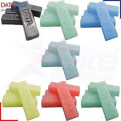 4 Bars Data Wax - Ski Snowboard Mountain Slope All Temp & Types Datawax
