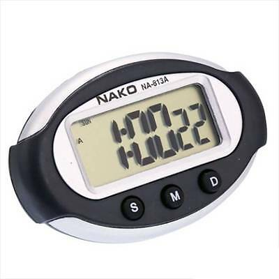 Digital Display Alarm Calendar Stopwatch Desk Home Car Clock - Battery Included