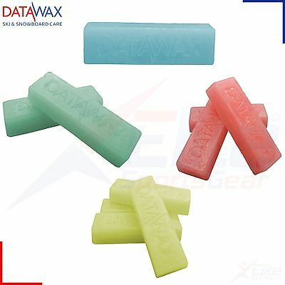 1, 2, 3 or 4 Bars Data Wax - Ski Snowboard Mountain Slope All Temp & Types