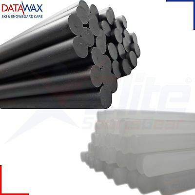 Data Wax Datawax Repair Candles Ski Snowboard Tuning Finishing Black or Clear
