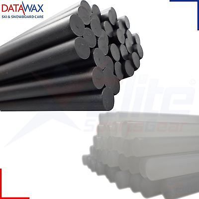 Data Wax Repair Candles Ski Snowboard Tuning Finishing Black or Clear