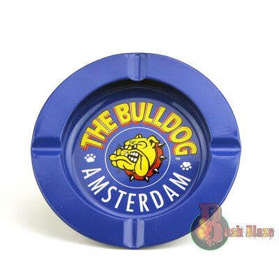 Ashtray From The Bulldog Coffee Shop | Metal | Cigarette | FREE SHIPPING
