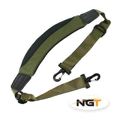 Fully Padded Adjustable Bedchair Chair Carry Strap For Carp Fishing Tackle Beds