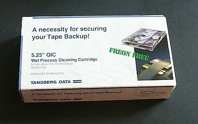 "Tandberg Data  5.25"" QIC Wet Process Cleaning Cartridge"