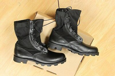 ALTAMA US Military Army JUNGLE BOOTS Spike Protective Men's 9 Wide Black NEW