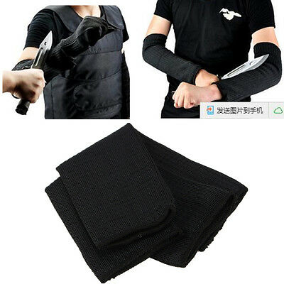 Tactical Anti Abrasion Cut Proof Armband Protective Sleeve Arm Guard Bracers