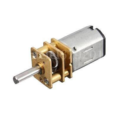 N20 DC 6V 30RPM Mini Speed Reduction Gear Motor With Metal Gear Box Wheel Model