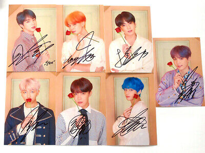 BTS Bangtan Boys in-album In the Mood for Love Photo Card SET