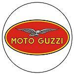 Leather Key Fob Moto Guzzi