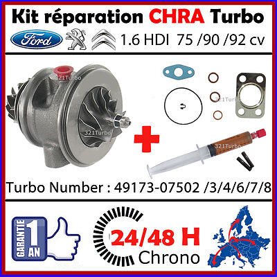 24H00 CHRA TURBO Td025s2-06t4 Turbocharger Cartridge Core Cartouche Repair Kit