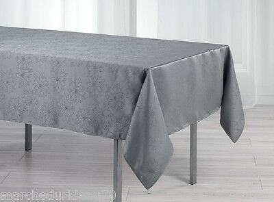 nappe anti tache rectangle 140 x 300 cm jacquard. Black Bedroom Furniture Sets. Home Design Ideas