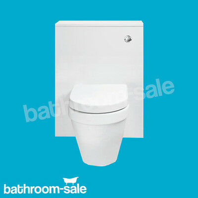 Alpine Gloss White 600 WC Unit Toilet Surround ONLY GENUINE PRODUCT RRP £199 NEW