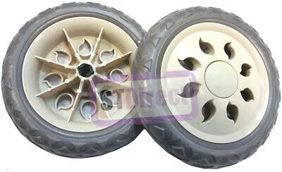 2 x Replacement / Spare Shopping Trolley Wheels (ONE PAIR ONLY) & FREE DELIVERY