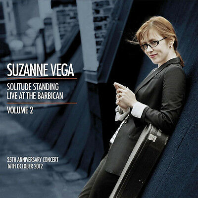 "SUZANNE VEGA Live At The Barbican Vol 2 12"" LIMITED EDITION CLEAR VINYL 2LP"