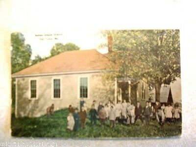 Vintage 1900's Native American Indian Island School Old Town Me. Post Card
