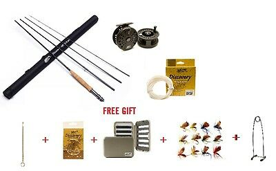 Fly Fishing Set 9ft 5/6 wt + Free Gift 16pc