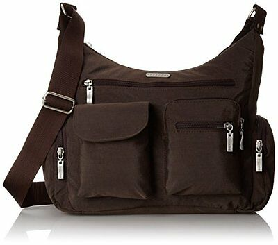 Baggallini Everywhere Messenger Bag Brown (Espresso) Home Household Supplies New